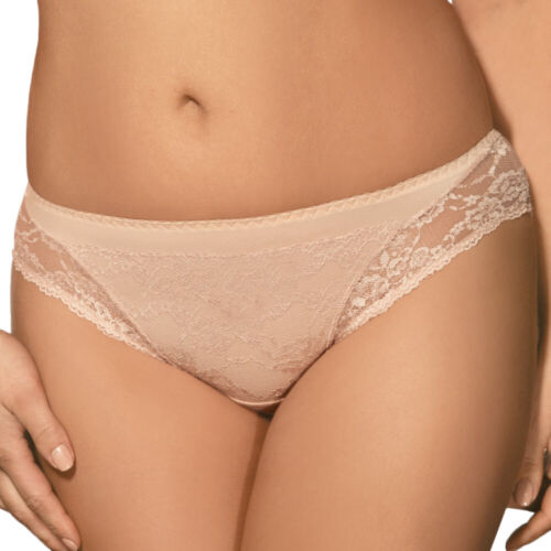 Ava 1130 women/'s knickers briefs patterned in flowers with lace regular waist