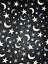 Polar Fleece Anti Pill Fabric Premium Quality Soft Material Moon /& Stars Print