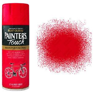 x11 Rust-Oleum Painters Touch Multi-Purpose Aerosol Spray Paint Cherry Red Gloss