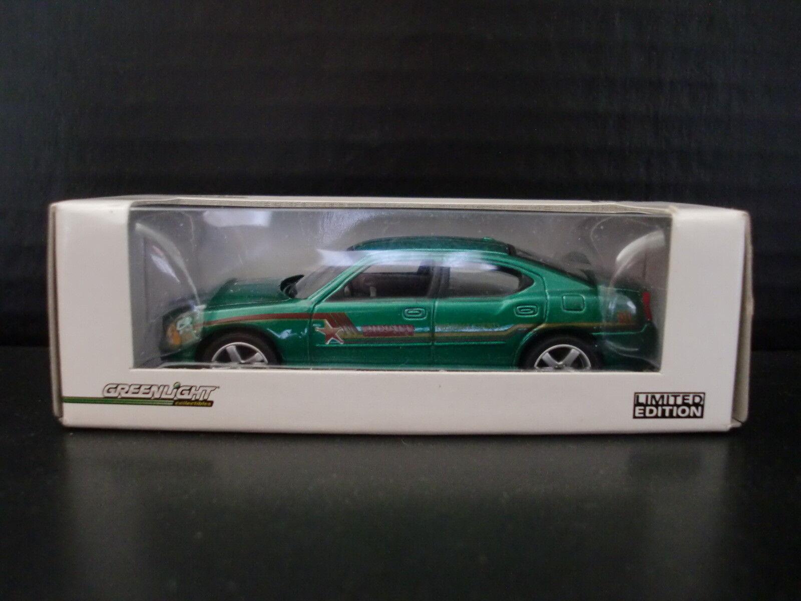 Máquina verde verdeLight Dodge Cochegador Virginia policía coche 1 de 30 1 64 DIE CAST