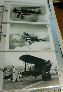 WWII U.S MACON BIPLANE AIRPLANES 3 B/&W 4X6 PHOTOGRAPHS #87 NAVY CURTISS U.S.S