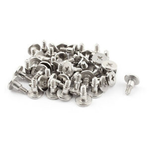 Laptop-Computer-Shockproof-Phillips-Flat-Head-Bolts-HDD-Hard-Drive-Screws-50pcs