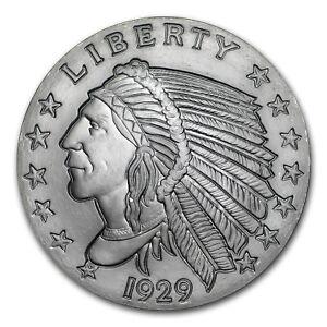 2-oz-Silver-Round-Incuse-Indian-SKU-149354