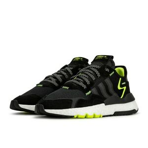 Adidas Nite Jogger black yellow,talla 44.5 ,US10.5,a estrenar,de 129 a 75 euros