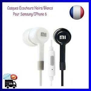 Ecouteurs-Oreillettes-Casque-3-5-Xiaomi-MICRO-pour-Samsung-IPhone-6-NOIR-BLANC