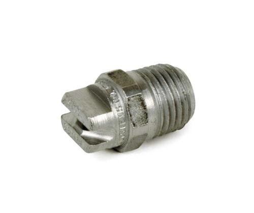 """1//4/"""" NPT MEG Orifice 40 x 25 deg. Spraying Systems Stainless Nozzle 87078130"""