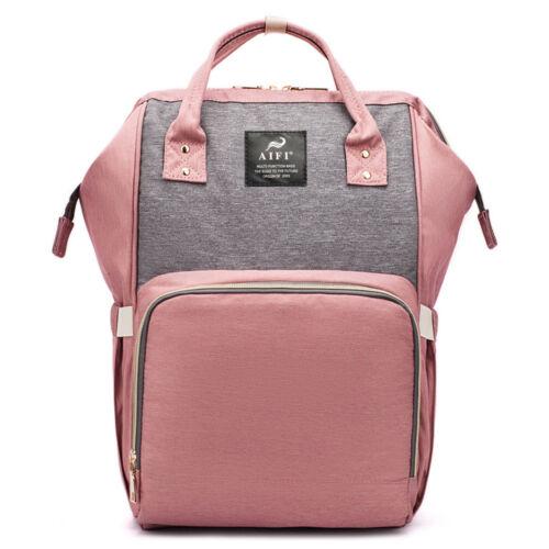 Mummy Maternity Nappy Diaper Bag Large Changing Baby Travel Backpack Handbag