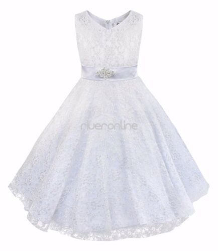 Kind Mädchen Prinzessin Sommer Casual Floral Spaghetti Strap Kleid Sommerkleid