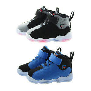 3b783b66d00ef Nike 861434 Toddler Child Air Jordan Jumpman Team II Mid Top Shoes ...