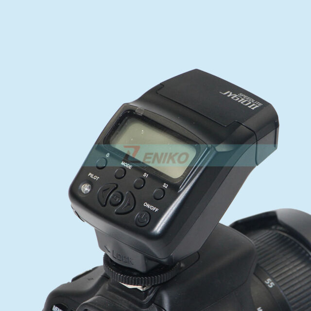 Viltrox JY-610II mini LCD Flash Speedlite for Olympus E-P5 Sony A7R A3000 NEX6