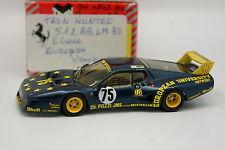 Tron Kit Monté 1/43 - Ferrari 512 BB Le Mans 1980 N°75 European University