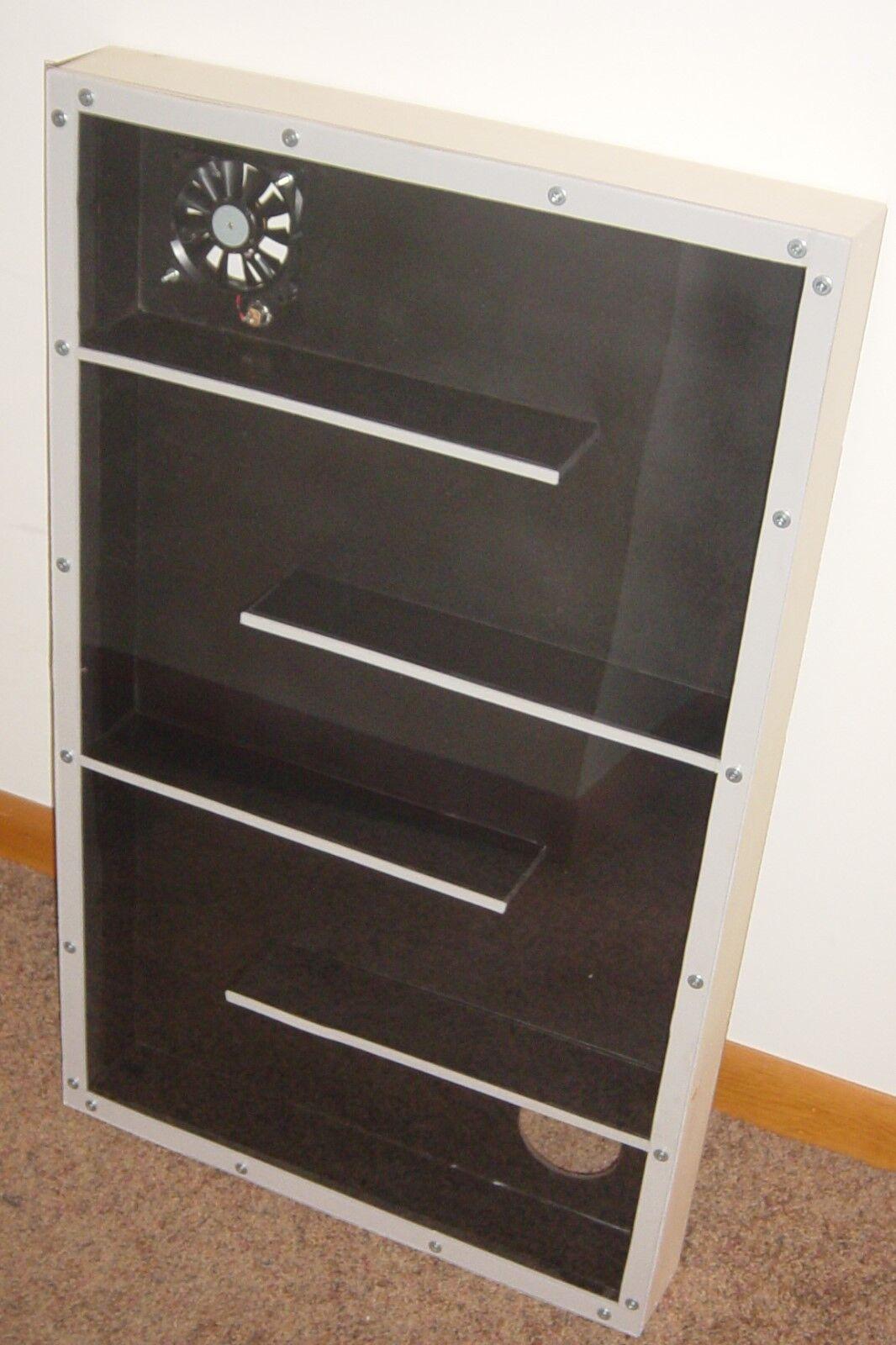 Solar Window Air Heater Panel Heater, FREE HEAT Save Money, NEW UPDATED MODEL