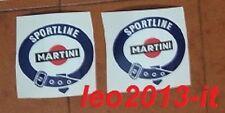 lancia delta hf integrale evo 1 2 adesivi decals stickers martini baule