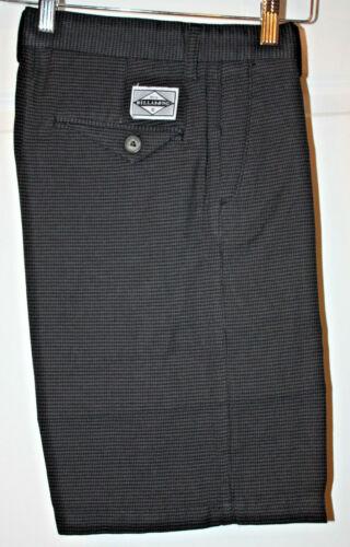 Billabong Boys Tipsy Yarn Dye Walkshorts Charcoal