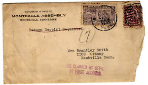 1932 Monteagle Assembly Envelope-Speci