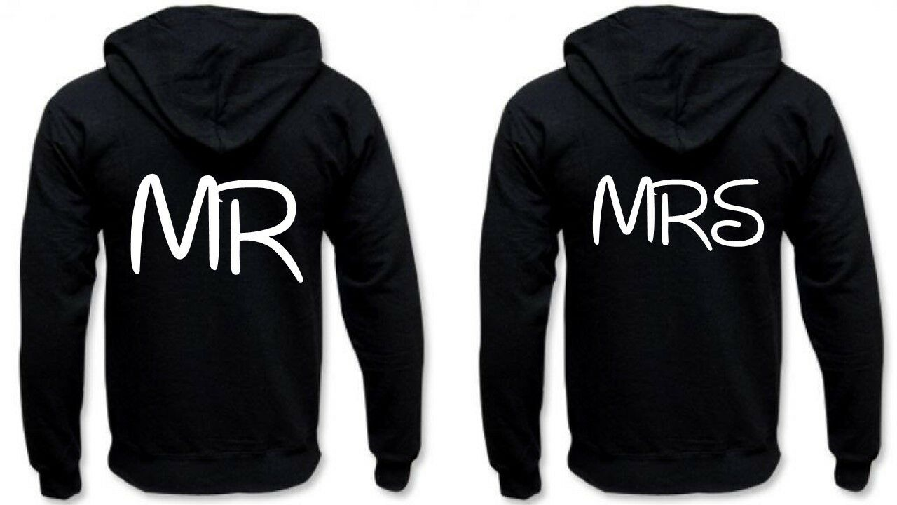 Partner Hoodies - MR & MRS.