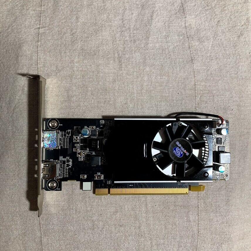 Sapphire ATI AMD Radeon R7 240 2x HDMI 2GB DDR3 Graphics Card 11216-07