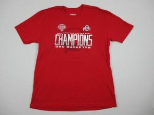 NEW-289-Apparel-Ohio-State-Buckeyes-Red-Short-Sleeve-Shirt-2XL