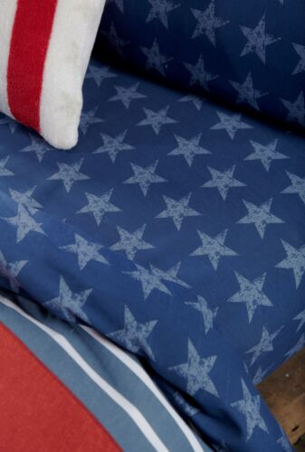 Stars And Stripes Catherine Lansfield Duvet Set Reversible Bedding Spread Kids