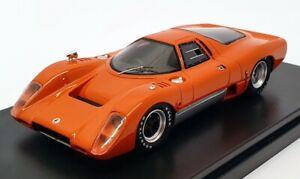 PremiumX-auto-modello-IN-SCALA-1-43-PR0257-1969-McLaren-M6B-GT-Arancione