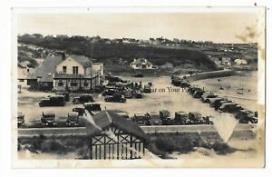 Wales-Anglesey-Benllech-Bay-Real-Photo-Tuck-Vintage-Postcard-24-3
