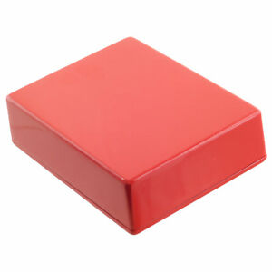RED Guitar Pedal Enclosure - professionally painted - Hammond 1590BB size