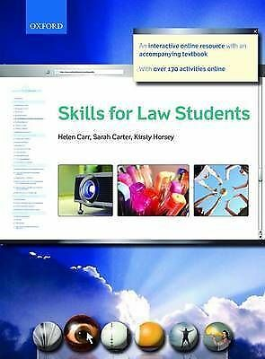 Skills for Law Students by Kirsty Horsey, Sarah Carter, Helen Carr...