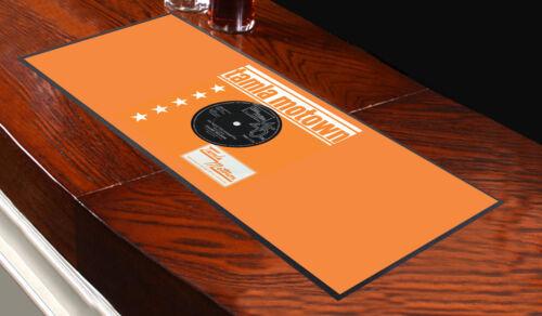 Tamla Motown Frank Wilson Orange Design Bar Runner Multi Mat Pub Club Party Home