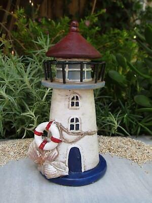 Mini Fairy Wooden Chair Dollhouse Lighthouse Garden Home Sea Beach Deco Kid Gift