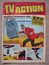 TV Action + Countdown # 66 (1972) - Featuring Doctor Who, Captain Scarlet