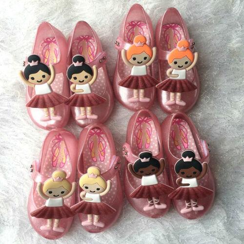 Mini Melissa Ballet Girls Sandals Toddler Kids Girls Jelly Shoes EUR Size 21-29