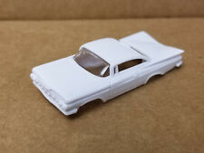 ThunderJet 1958 Plymouth Fury Belvedere Unpainted Body Only Fits TJet