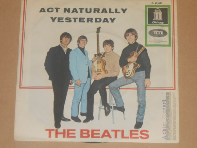 THE BEATLES -ACT Naturally- 7
