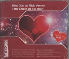 DIVA DJs vs NICKI FRENCH Total eclipse of the heart 8 TRACK CD NEW - SEALED