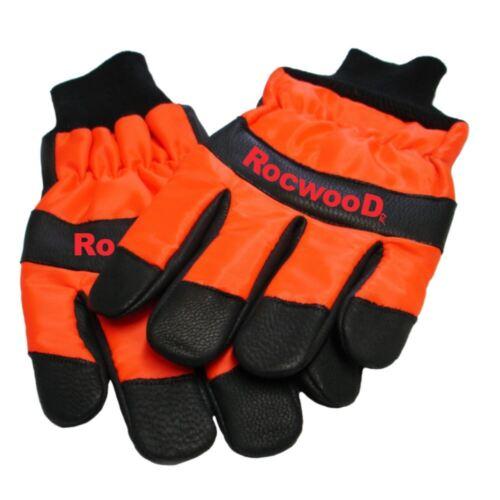 Hard Set /& Medium Gloves Size 9 Rocwood Chainsaw Safety Helmet