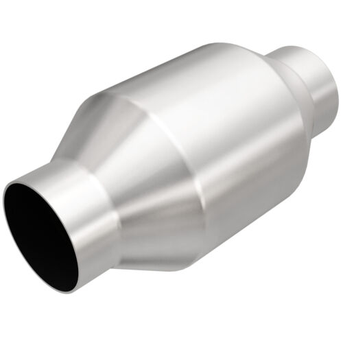 """Magnaflow 53956 Universal High-Flow Catalytic Converter Round Spun 2.5/"""" In//Out"""