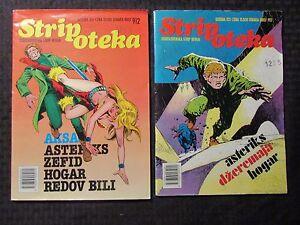 1989 STRIPOTEKA #912 913 FN- 5.5 LOT of 2 Yugoslavia Comic Book Corben Den