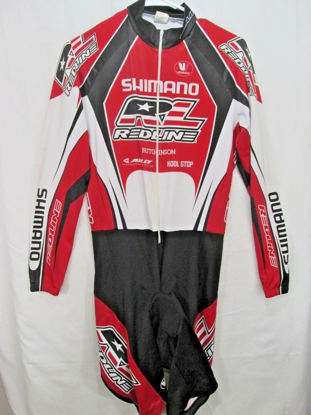 Redline  Shimano  bmx racing  suit shortie vintage By Vermarc  size XL  cost-effective