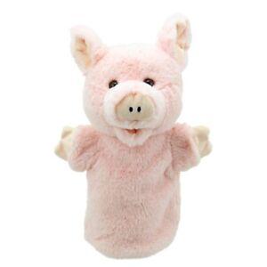 kuschelweich Handpuppe Schwein ca. 24cm NEUWARE