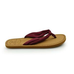 ce1cd7ba49638 Animal® Cilla Fabric Strap Women s Bordeaux Red Flip Flops Sandals ...