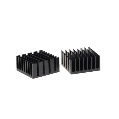 10 Pcs 20X20X10Mm Heat Sink Heatsinks Cooling Aluminum Radiator Sm Tp GF