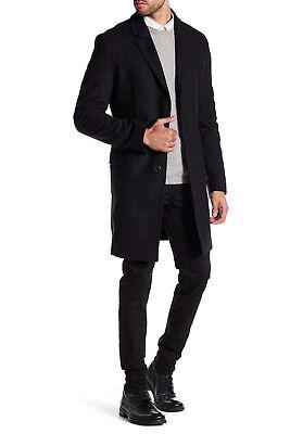 537c6bf2ea HUGO BOSS Men's Migor Coat 80% Virgin Wool Overcoat in Charcoal Size US 44R  $595