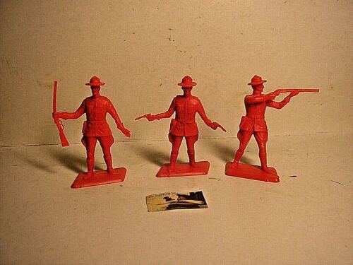 Soldatini Dulcop Italy Serie completa Giubbe Rosse a piedi in plastica sc.1:32