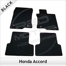 Honda Accord Mk8 2008-2015 Fully Tailored Fitted Carpet Car Floor Mats BLACK