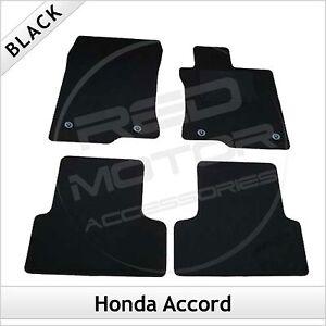 HONDA-ACCORD-Mk8-2008-2015-Tailored-Carpet-Car-Floor-Mats-BLACK