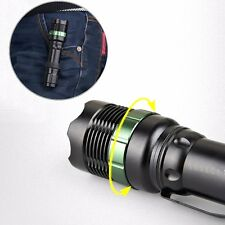 2000Lm Lumen Tactical LED Flashlight Torch Lamp Ultrafire CREE XM-L T6 Zoomable