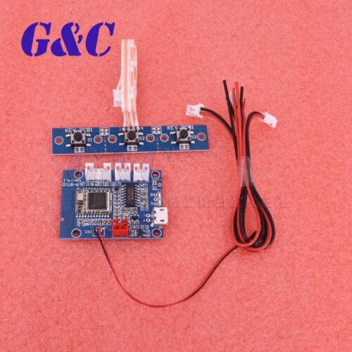 PAM8406 Bluetooth 4.1 Audio Receiver Module 5W+5W Amplifier Board Hand-Free Call