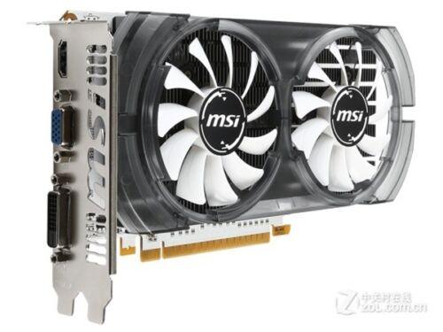 MSI NVIDIA GeForce GTX750 Ti 2GB Video Gaming Card 128bit DDR5 HDMI DVI