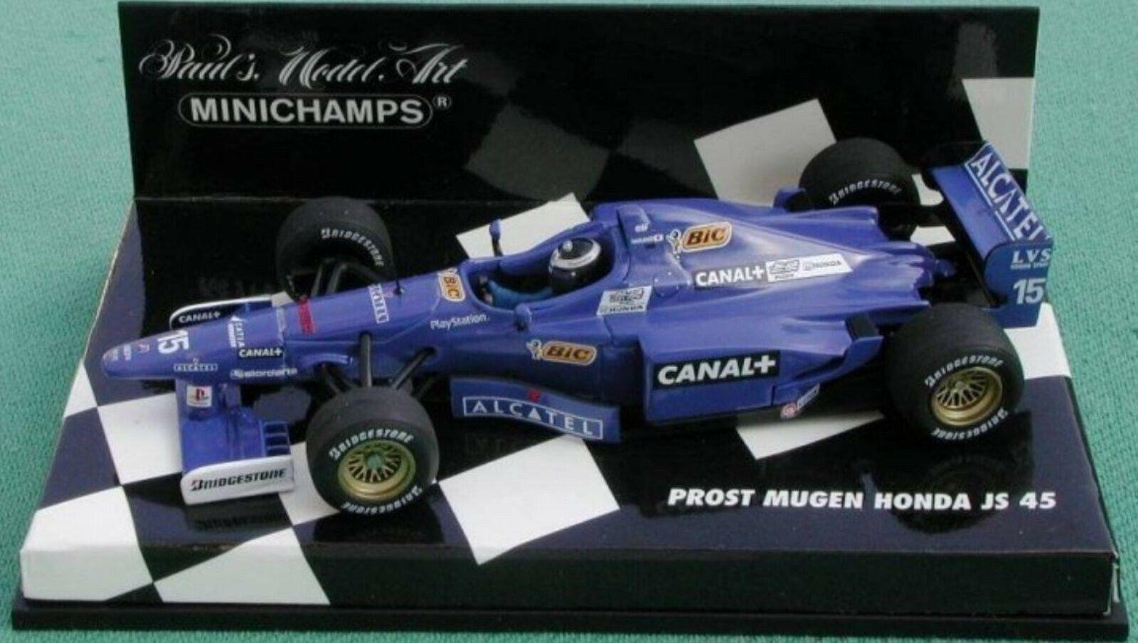 Wow extrêmement rare PROST MUGEN Honda BIC NAKANO GP FRANCE 1997 1 43 Minichamps