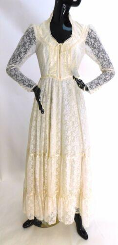 Vintage Gunne Sax wedding gown